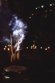 Vietnam, Ho Chi Minh city, Incense sticks inside Emperor of Jade Pagoda. - Martin Westlake