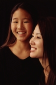 Mother and daughter, smiling, portrait - Mary Grace Long