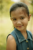 Young girl smiling, portrait - Alex Microstock02