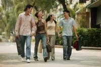 Couples walking hand in hand - Alex Microstock02