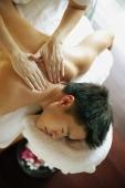 Young man receiving back massage - Alex Microstock02