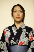Young woman wearing a kimono. - Alex Microstock02
