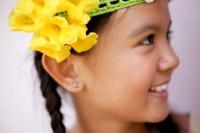 Young girl smiling, portrait - Jack Hollingsworth