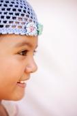 Young girl smiling, profile - Jack Hollingsworth