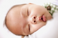 Close-up of sleeping baby - Jack Hollingsworth