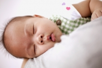 Portrait of sleeping baby - Jack Hollingsworth