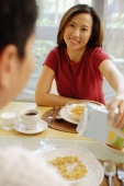 Couple having breakfast. - Alex Microstock02