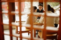 Young couples at a Chinese restaurant - Alex Mares-Manton