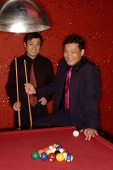 Two businessmen at pool table - Alex Microstock02