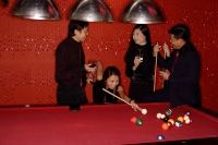 Couples playing pool - Alex Microstock02