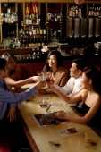 Group of people toasting, high angle view - Alex Microstock02
