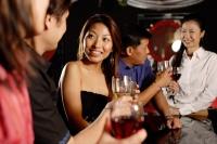 Men and women at bar, drinking - Alex Microstock02