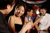Couples at bar, talking - Alex Microstock02