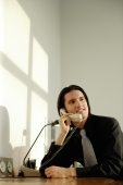 Executive at desk, on the phone - Alex Microstock02