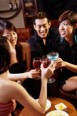Young people toasting with drinks - Alex Microstock02