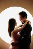 Couple embracing, face to face - Alex Microstock02