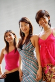 Young women standing, looking at camera - Alex Microstock02