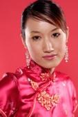 Woman in Cheongsam, head shot - Alex Microstock02