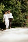 Couple walking in park - Alex Microstock02
