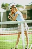 Woman playing tennis - Alex Microstock02