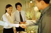 Executives shaking hands - Alex Microstock02