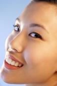 Woman looking at camera, sideways glance - Alex Microstock02