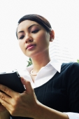 Business woman using PDA - Alex Microstock02