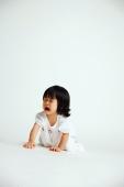 Baby girl crawling on floor, crying - Alex Microstock02