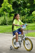 Young girl on bicycle - Alex Microstock02