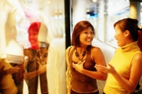 Young women window shopping - Alex Microstock02