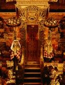 Temple gate at night - Martin Westlake