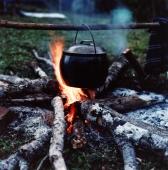 Campsite cooking at Tanjung Layar camping ground - Martin Westlake