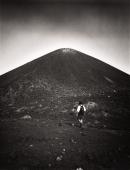 Asian male trekker on slopes of Krakatau volcano - Martin Westlake