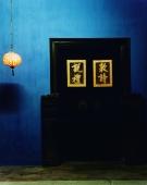 Chinese doorway at night - Martin Westlake