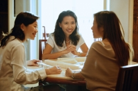 Women playing mahjong - Alex Microstock02