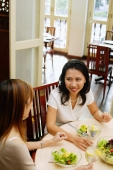 Women at a cafe, having lunch - Alex Microstock02