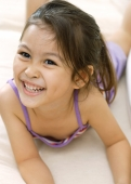 Young girl, lying down, smiling - Alex Microstock02