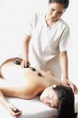 Woman receiving Lastone therapy - Alex Microstock02