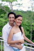 Couple smiling at camera - Alex Mares-Manton