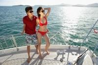 Couple on boat deck - Alex Mares-Manton