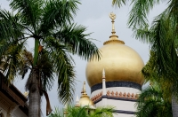 Singapore, dome of Sultan Mosque - Alex Microstock02