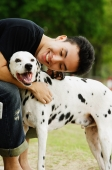 Man embracing dog - Alex Microstock02