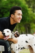 Man with Dalmatian - Alex Microstock02