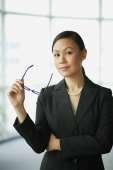 Businesswoman looking at camera, portrait - Alex Mares-Manton