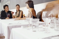 Couples dining in restaurant - Alex Mares-Manton