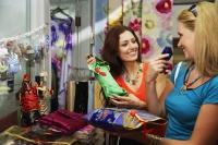 Two Caucasian women shopping - Alex Microstock02