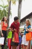 Caucasian tourists in Arab street, Singapore - Alex Microstock02