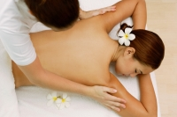 Young woman having a body massage - Alex Microstock02
