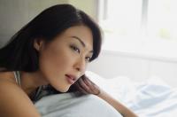 Woman looking away, head shot - Alex Mares-Manton