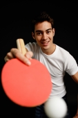Man playing table tennis - Alex Microstock02